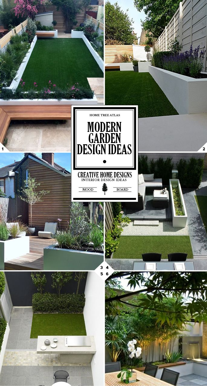Style Guide Modern Garden Design Ideas