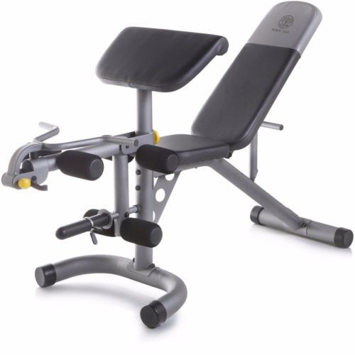 Details about workout bench weight home gym fitness exercise