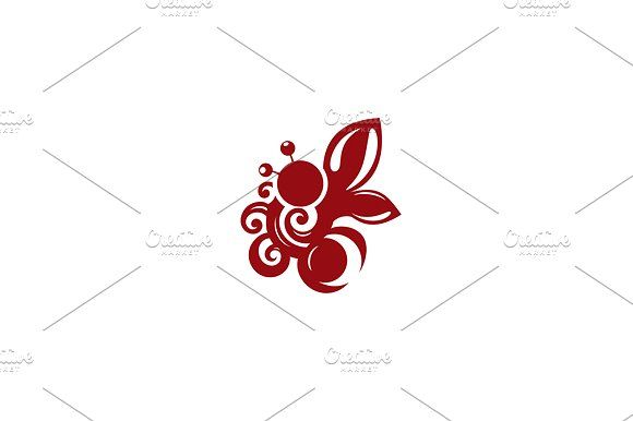 Chocolate Bee Templates Confectionery Unusual Logo template