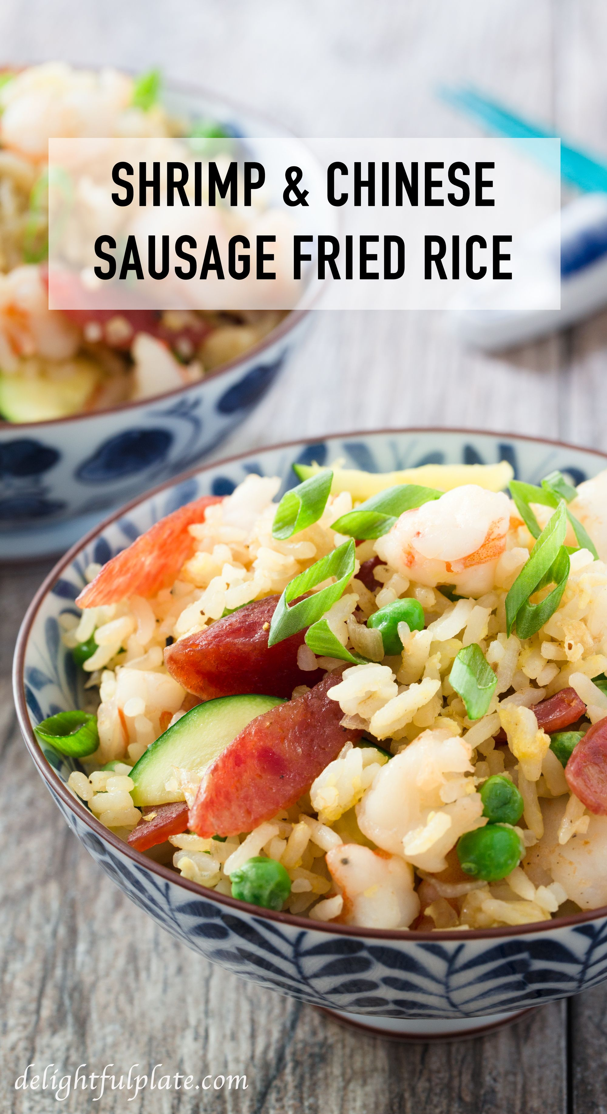 Chinese sweet sausage and shrimp fried rice recipe chinese chinese sweet sausage and shrimp fried rice asian food recipesseafood recipeseasy ccuart Image collections