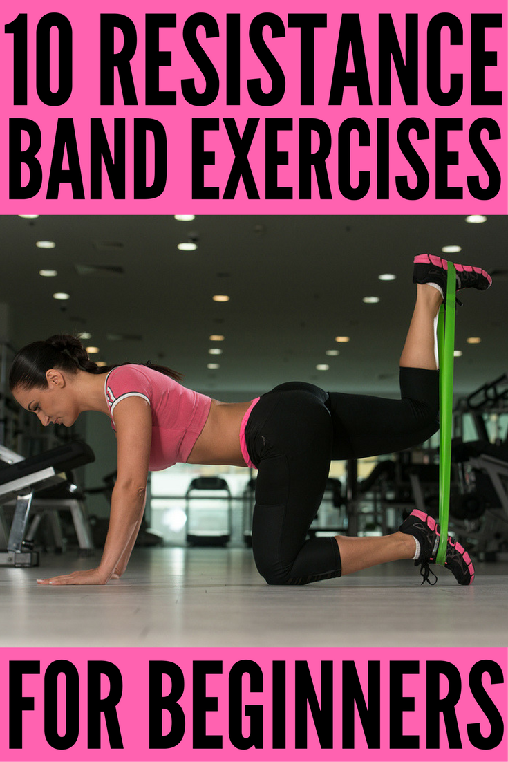 Full Body Workout with Resistance Bands: 10 Exercises to Tighten & Tone