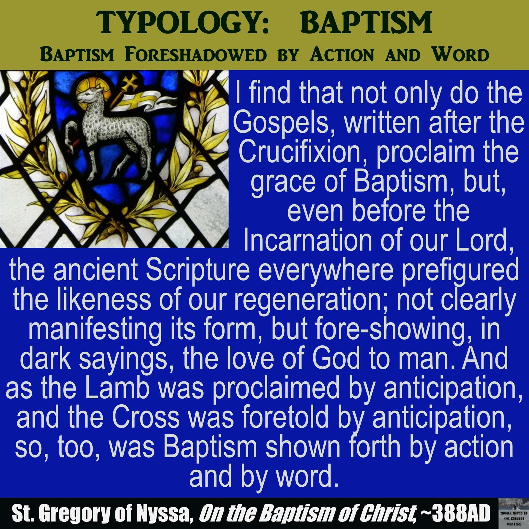 St Gregory Reminds Us That The Scriptures Of The Old