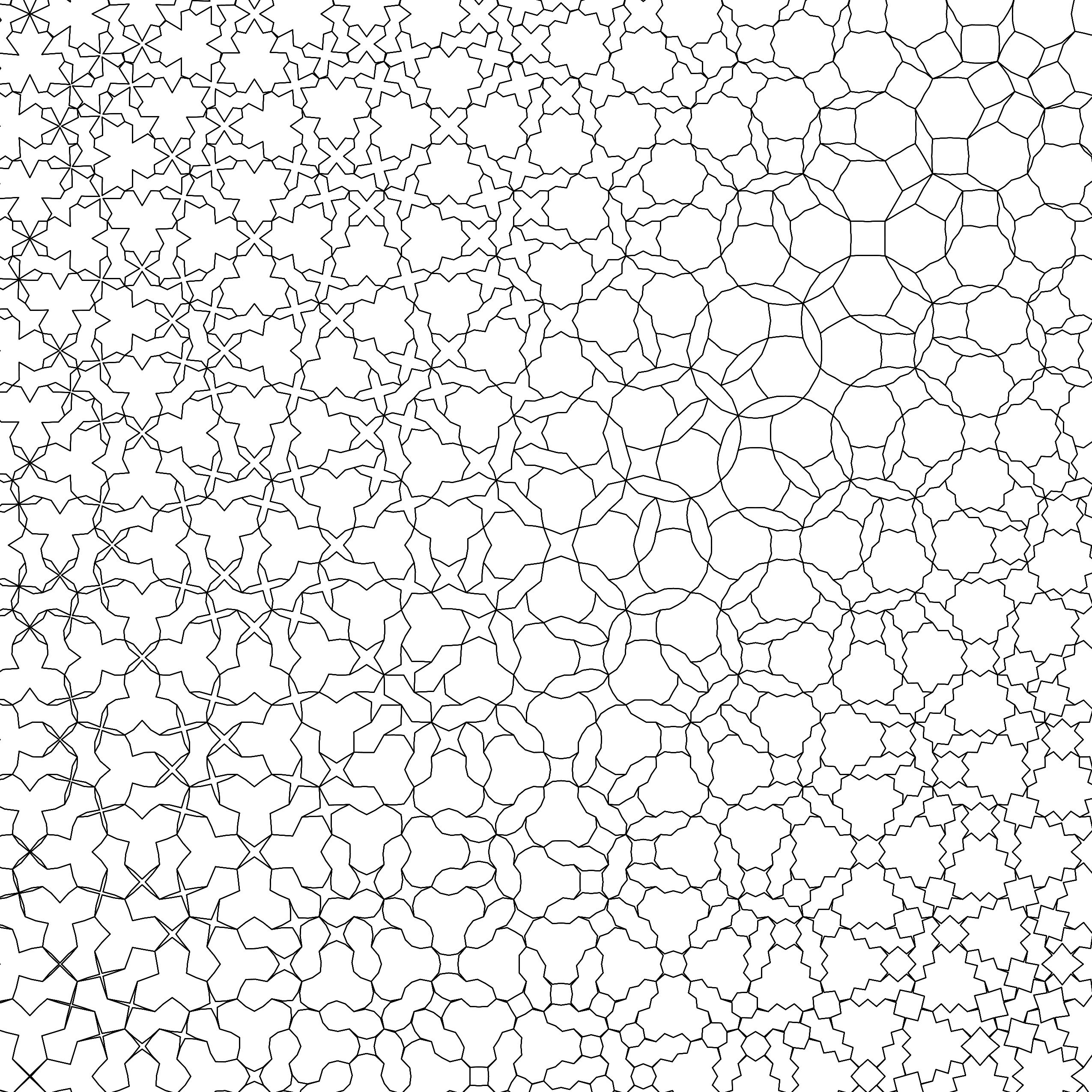 The New Coloring Book Patterns Of The Universe Highlights The
