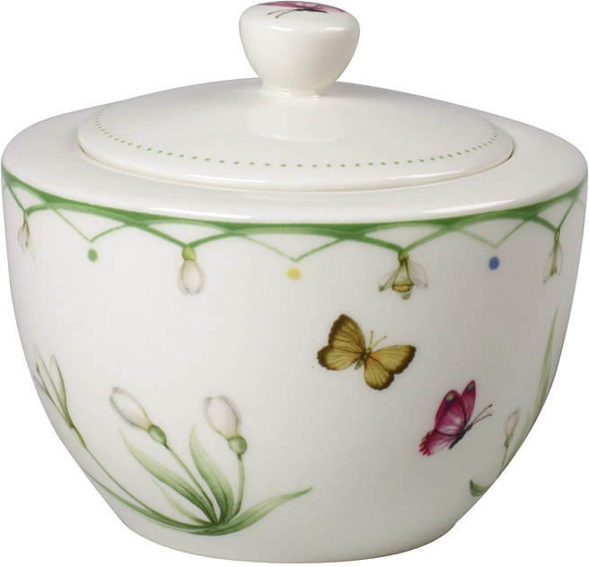 Villeroy Boch Colourful Spring Sugar Bowl
