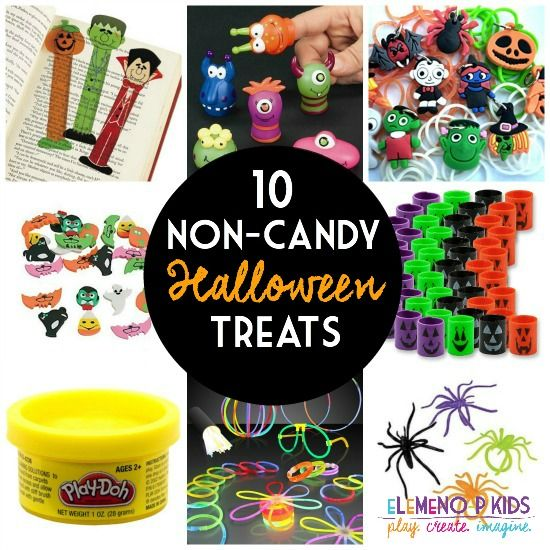 Fun treats for Halloween without the sugar!