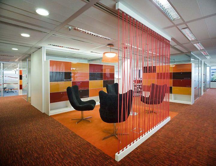 Oficinas modernas dise os actuales de for Pinterest oficinas modernas
