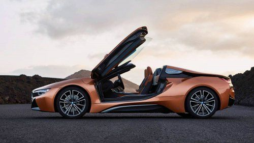2018 Bmw I8 Roadster Adds Open Top Thrills To Munich S Plug In