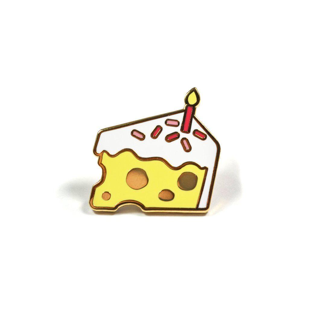 Cheesecake Lapel Pin