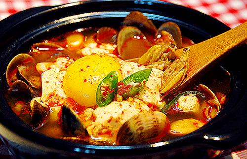Soondooboo Jjigae Korean Soft Tofu Stew