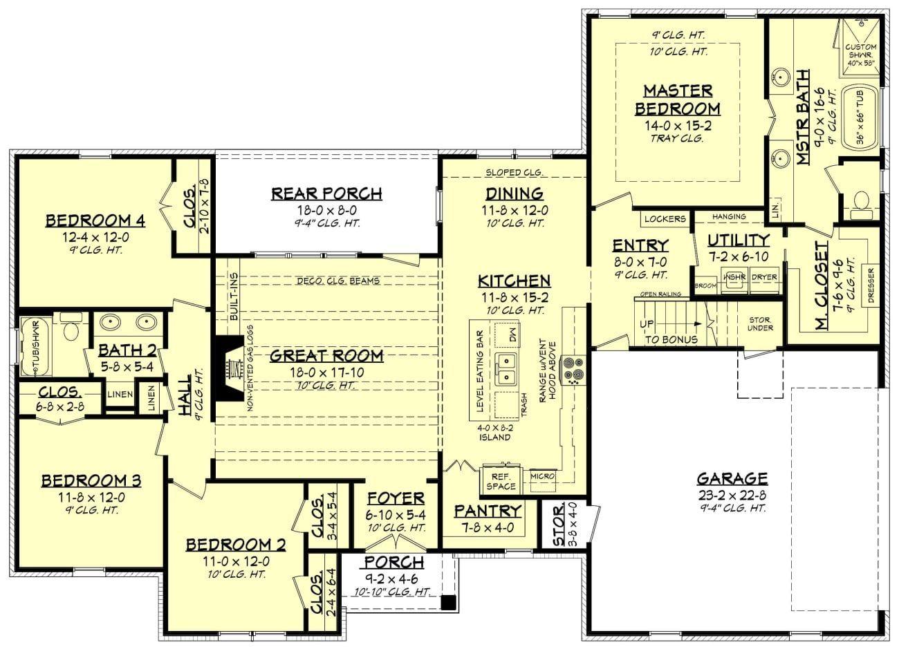 Mason House Plan House Plan Zone Mason House Plan House Plan Zone In 2020 House Plans How To Plan Floor Plans