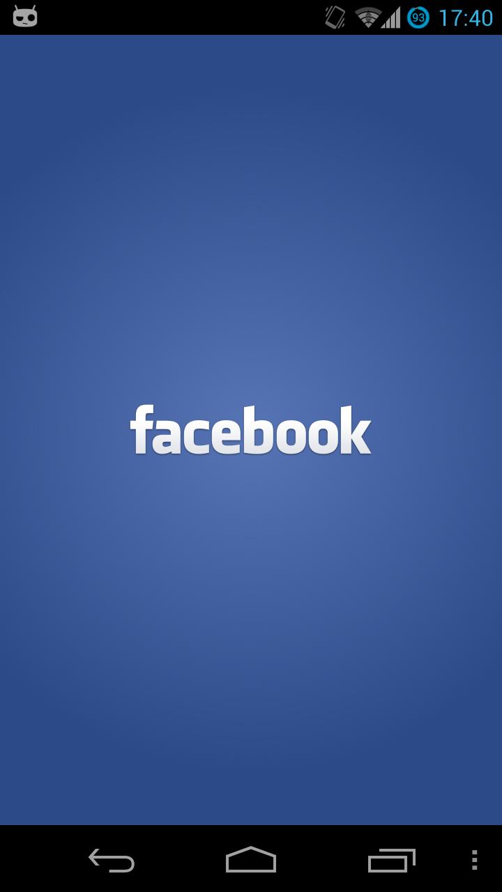 Facebook Social media quotes, Splash screen, App log