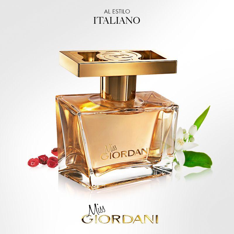 Miss Giordani Gold Es Un Perfume Dinámico Y Juvenil Con Excelente