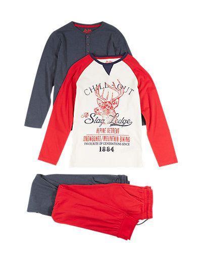 Boys Pyjamas & Nightwear - Dressing Gown for Boys   M&S   AW16 ...