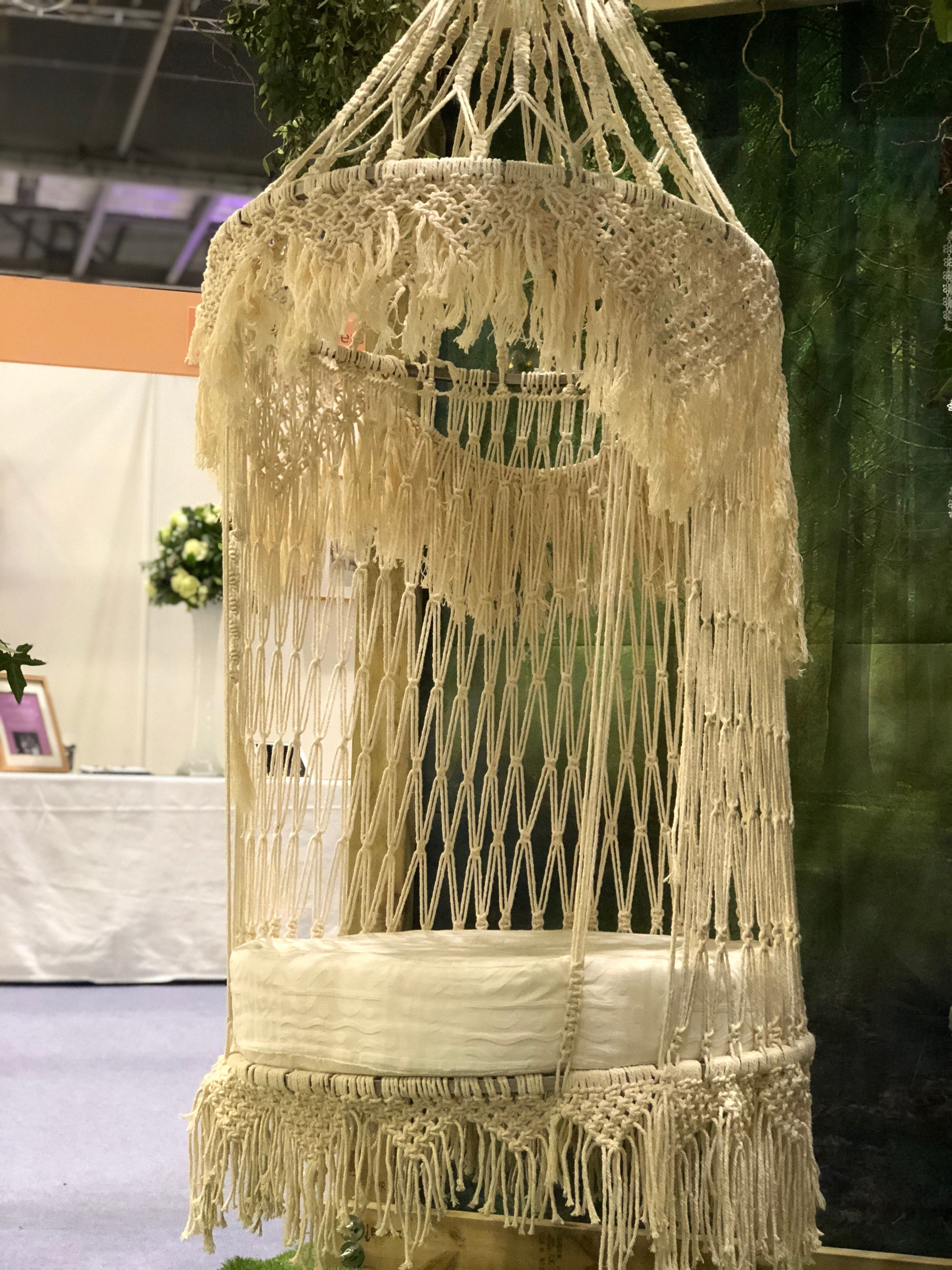 swing chair hire gym accessories macrame seat available to wedding