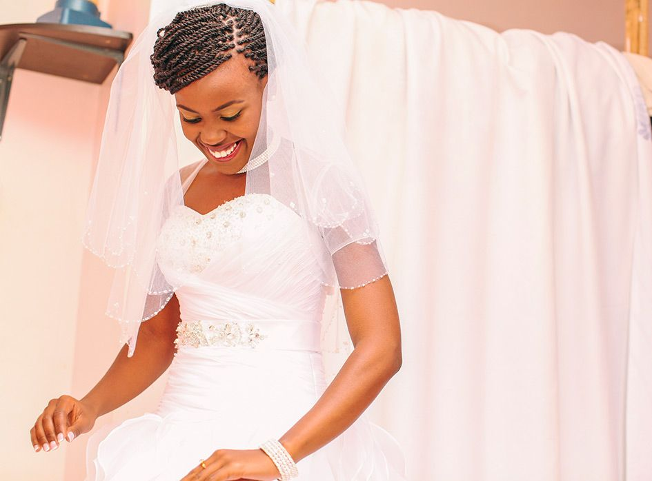 How I Married Your Mother Effie Ken S Story Hair Styles Wedding Hairstyles Kenyan Wedding