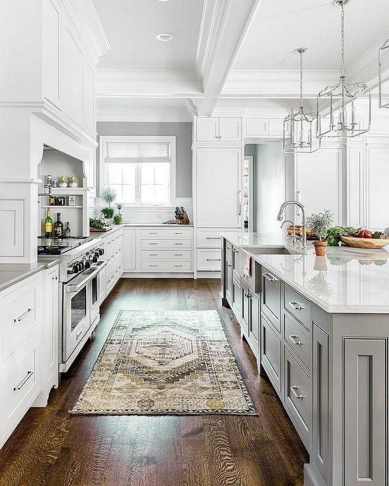 31+ Stunning Farmhouse Kitchen Design Ideas To Bring Modern Look #farmhousestyle #farmhousekitchen #farmhousedecor