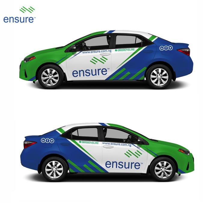 2015 Toyota Corolla Car Wrap Design Contest For An Nigerian