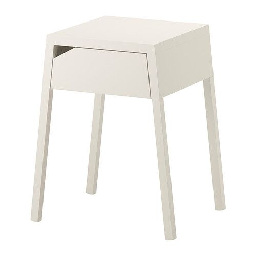 sengebord ikea SELJE Sengebord, hvid | Pinterest | Nightstands, Bedside table  sengebord ikea