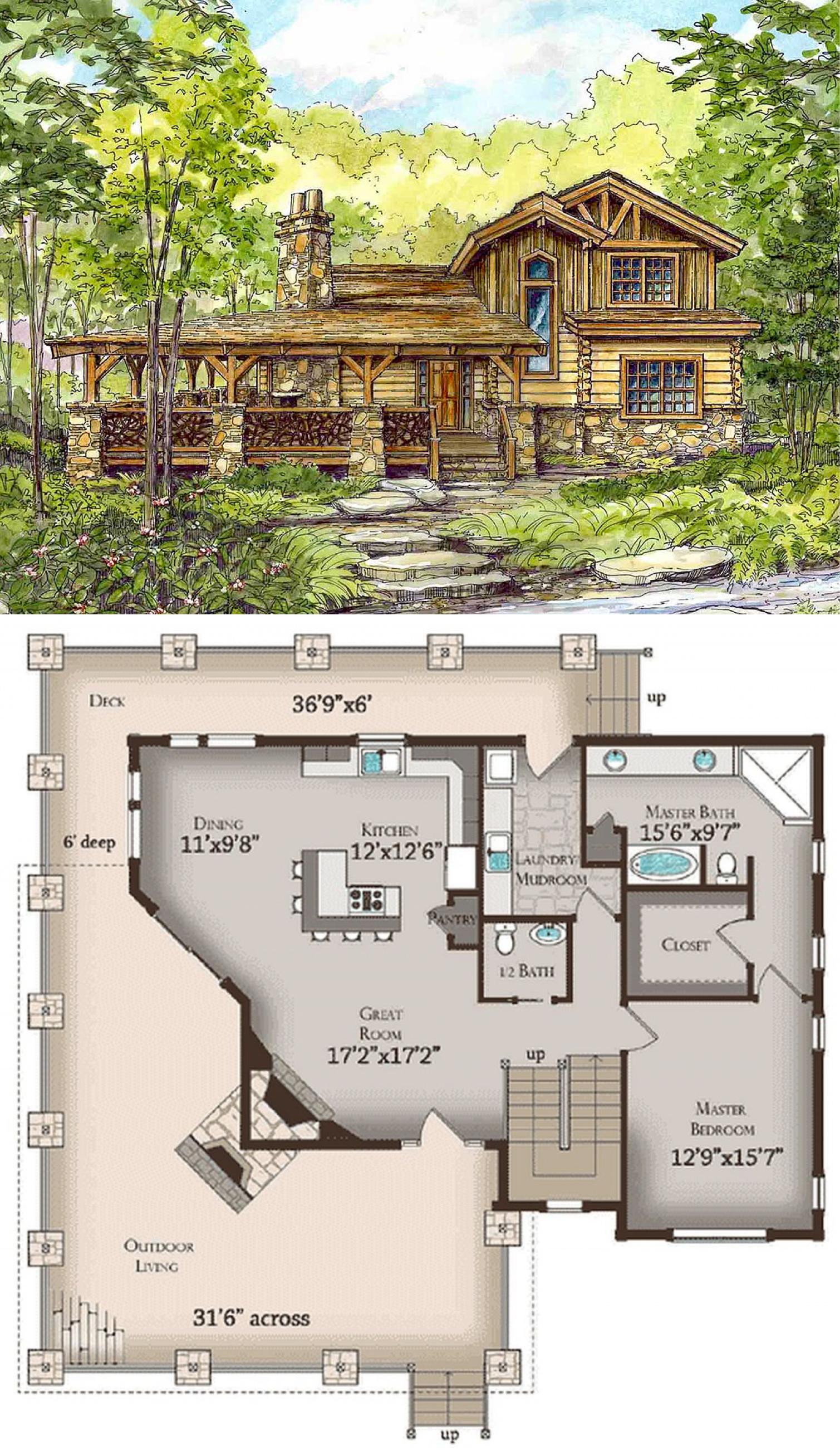 Huge Wrap Around Porch Plan 13318ww Porch Plans House Plans Wrap Around Porch