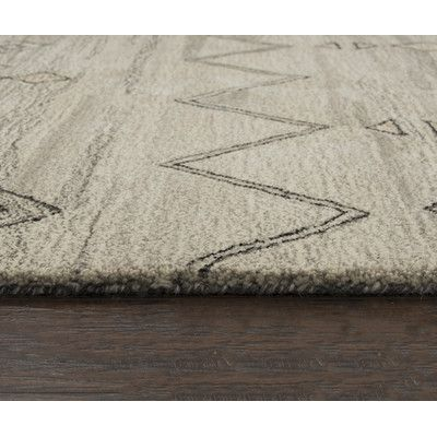 "Laurel Foundry Modern Farmhouse Haylee Hand-Tufted Gray Area Rug Rug Size: Runner 2'6"" x 8'"