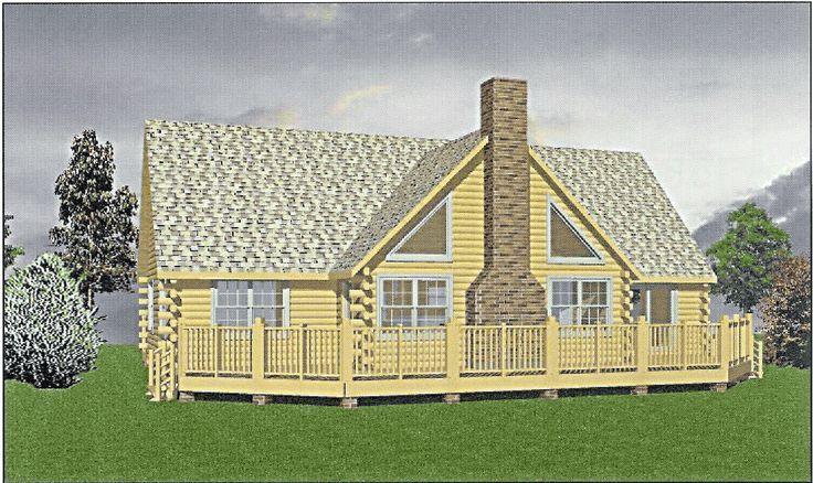 Log Cabin Kit Designs from Merrimac Log Homes cabin