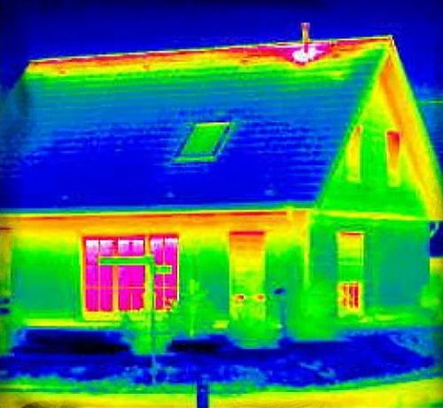 How Thermal Imaging Cameras Work Energy Efficient Homes Thermal Imaging Cameras Thermal Imaging