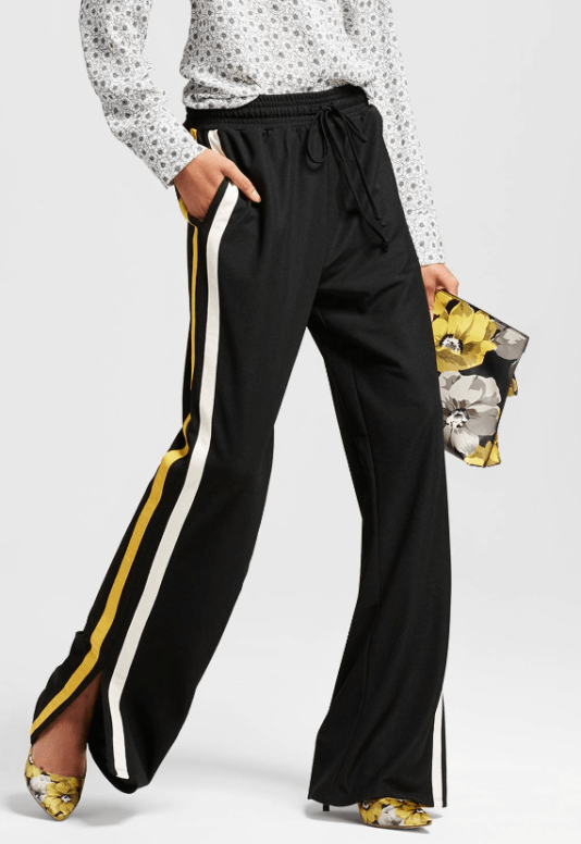 The Face of Style: Wishlist Wednesday - Flared Athletic Trousers