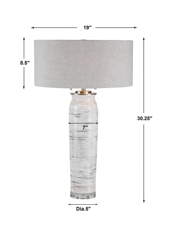 Extraordinaire  Mot-Clé Lenta Table Lamp   Uttermost
