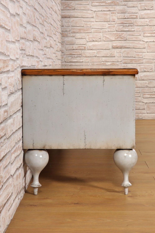 Porta Tv In Stile Classico.Porta Tv Credenza Bicolore In Legno Di Ciliegio Laccato Con Gambe