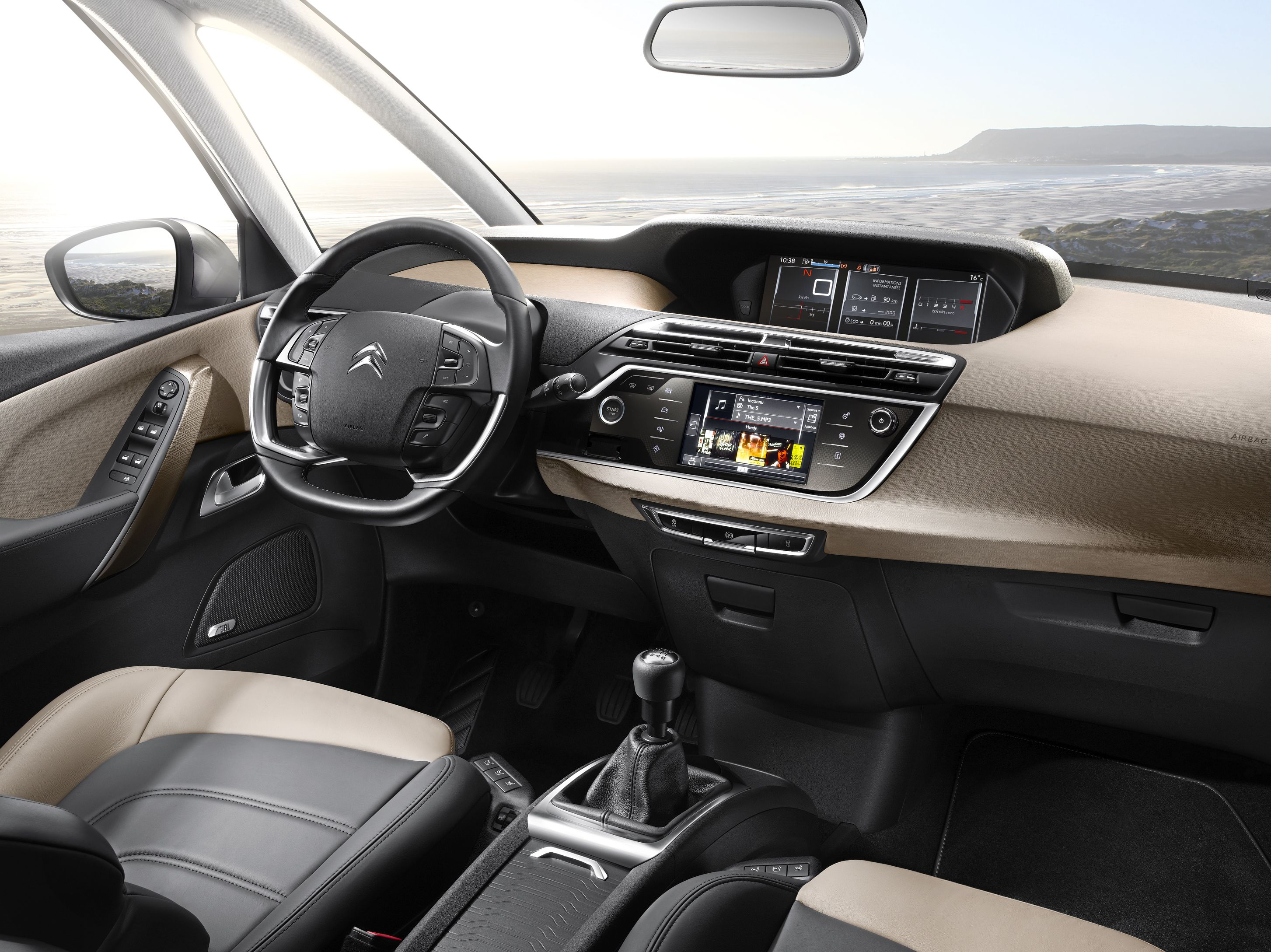 Interior of the new Citroën C4 Picasso. | C4 | Pinterest