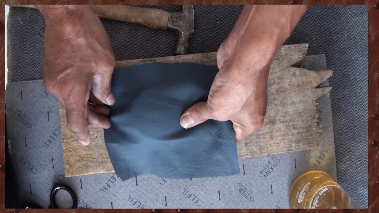How To Mold Automotive Leather Leather Upholstery Youtube Auto