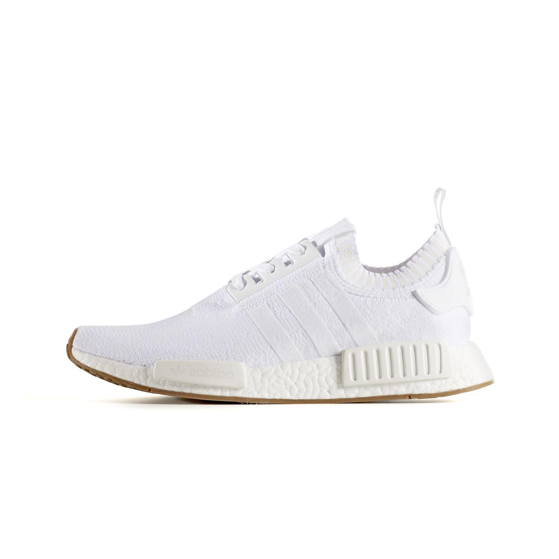 593798bab Adidas men s originals nmd r1 primeknit shoes - white