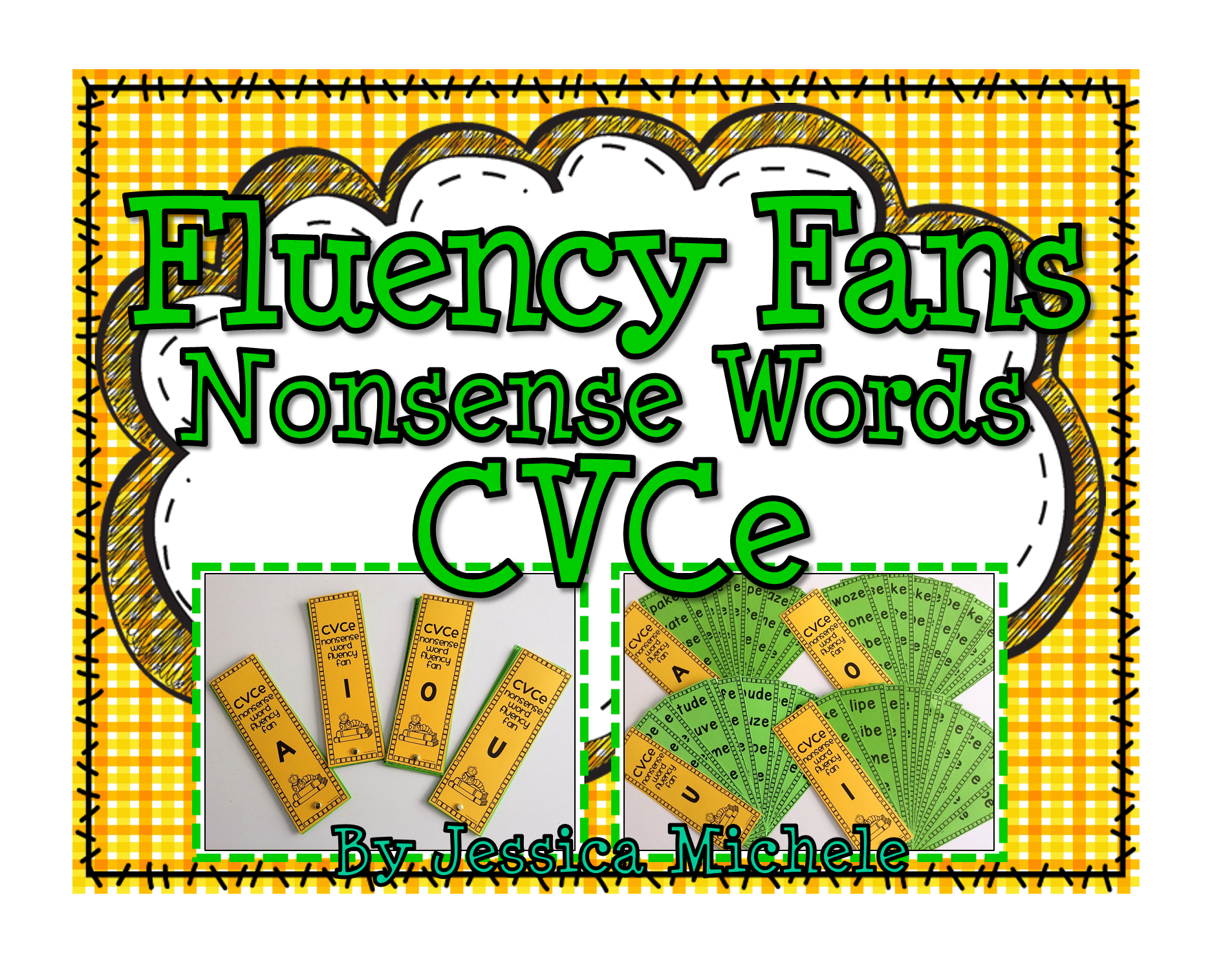 Fluency Fans Nonsense Words Cvce With Images