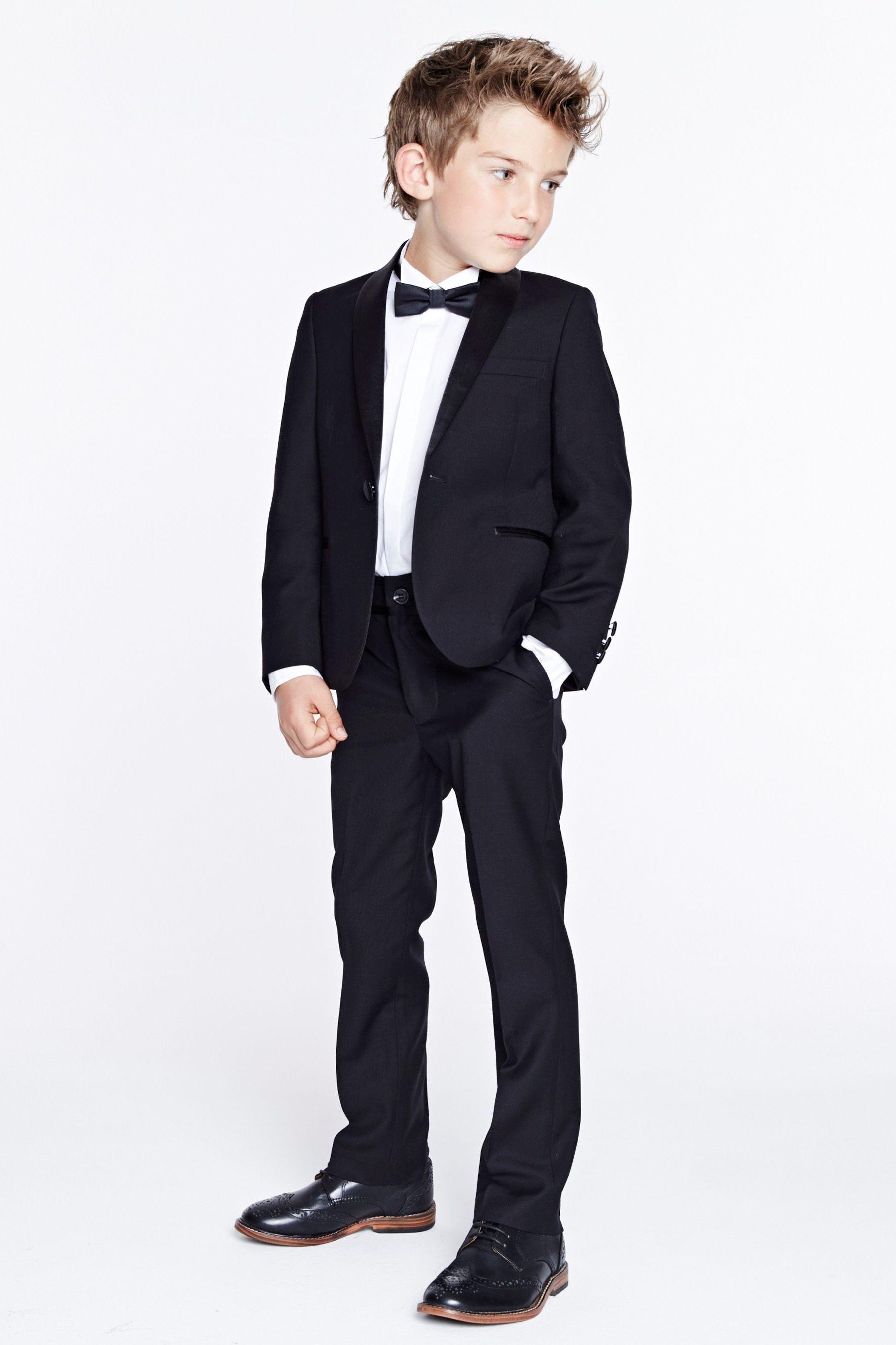 Buy Black Tuxedo Jacket (3mths-16yrs) - 105-259 | Next UK ...