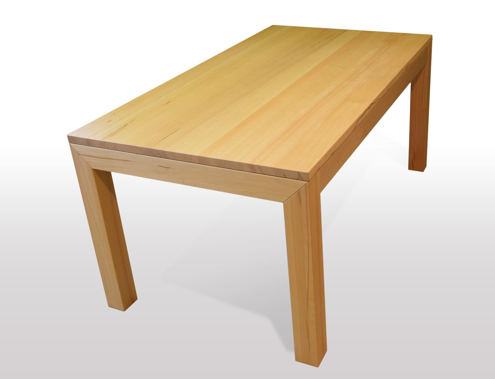 Tisch Buche massiv Breite 80cm / Länge wählbar