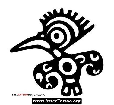 aztec symbol strength tattoo aztec symbol strength