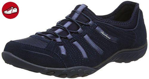 Skechers Damen Active Breathe-Easy Big Bucks Sneakers, Blau (Marineblau),  37.5
