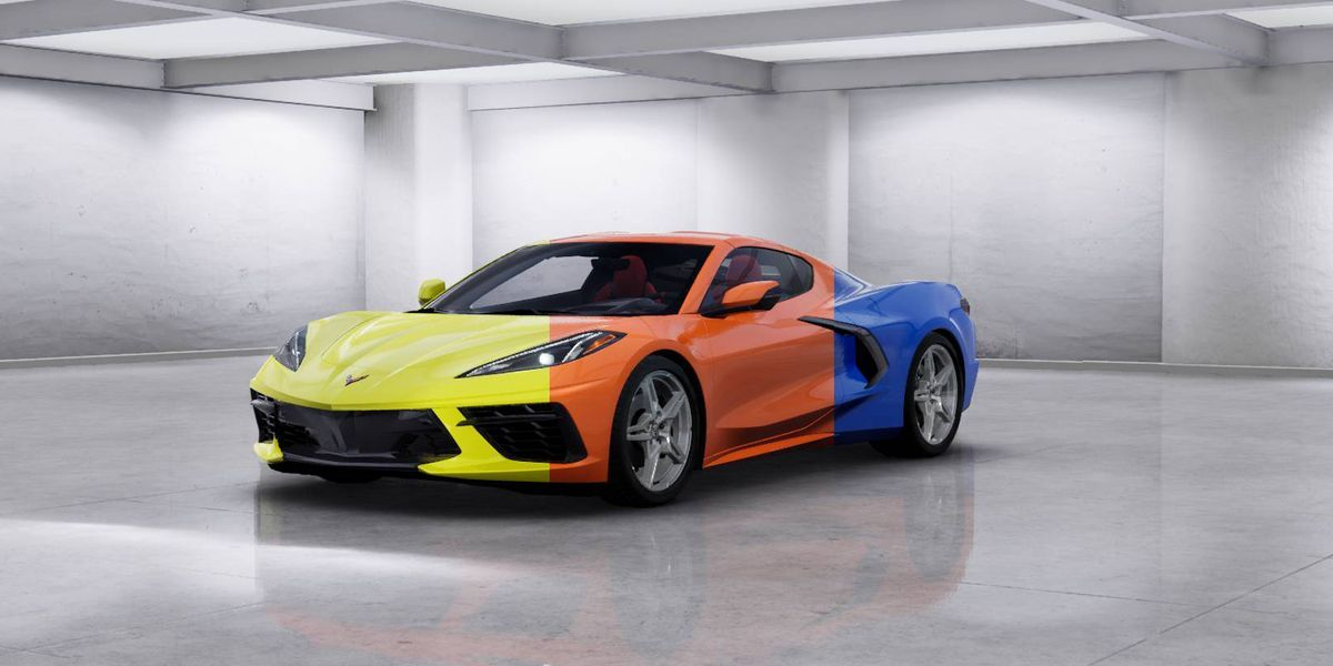 See The 2020 Chevy Corvette In Every Color Available Classic