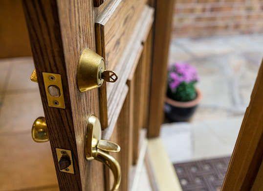 Get Your Fix 20 Easy Diy Repairs For Every Part Of Your Home Front Door Hardware Exterior Door Hardware Front Door Locks