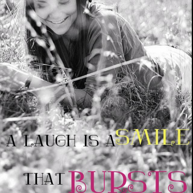 Laughing is good for you. Didja know? Credit: Megan Maddox
