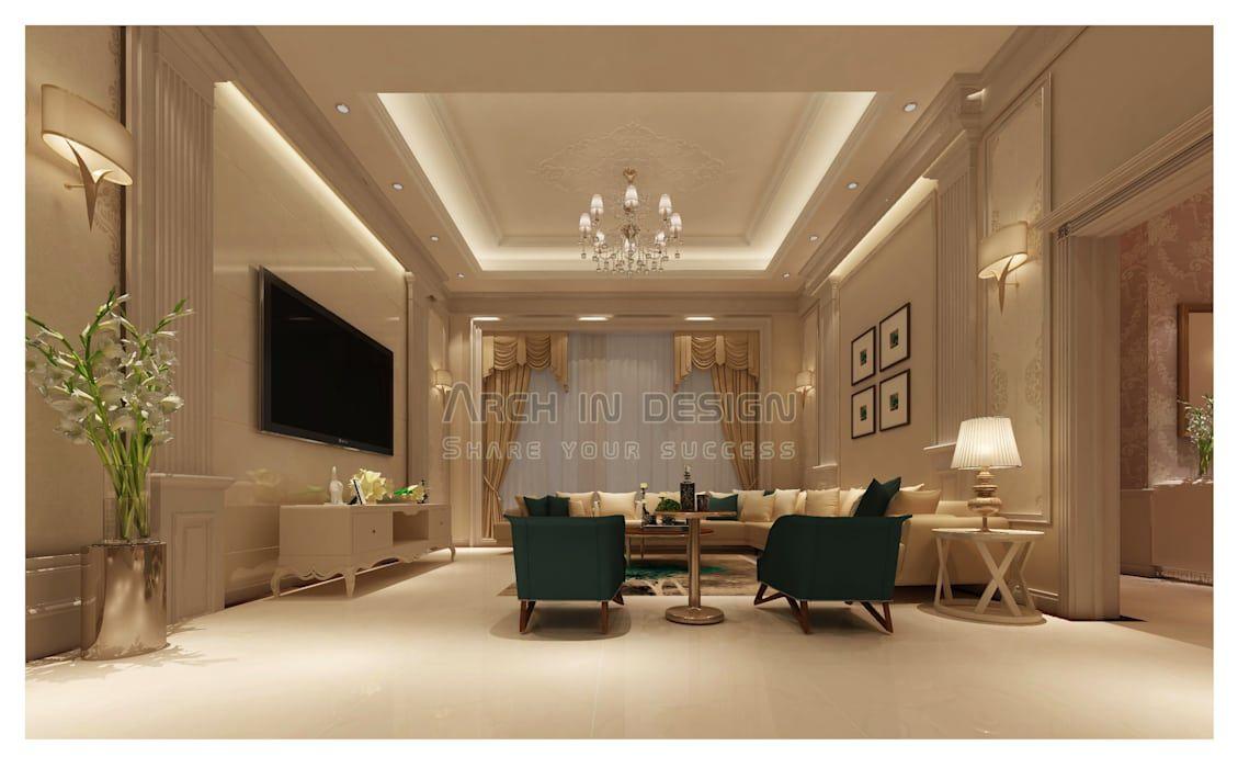 صاله عائليه غرفة المعيشة تنفيذ Arch In Design Room Design Design Living Room Designs