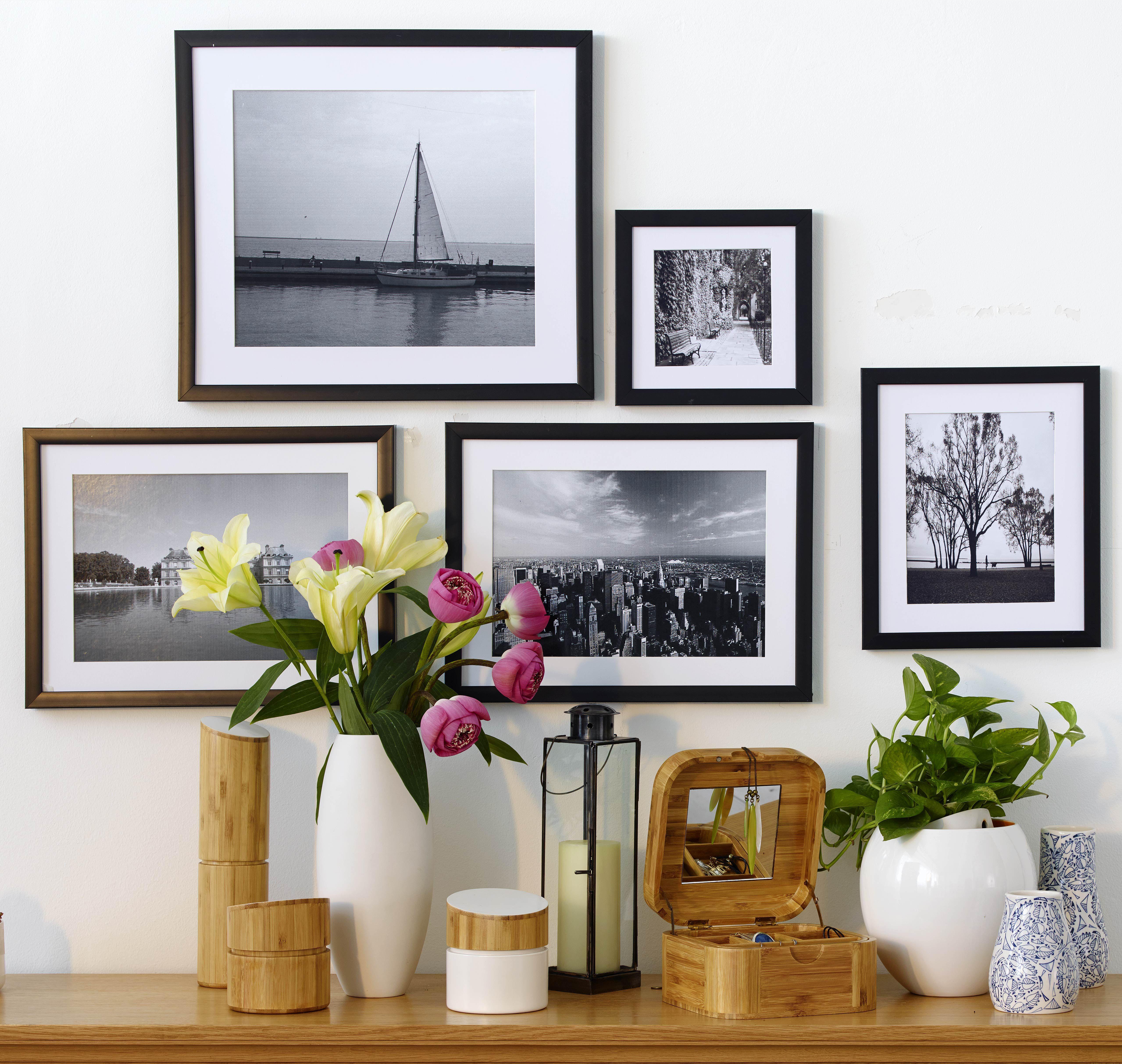STILL Picture Frames TWIST Stationary ALPINA Vase BRITTANY Vase ...