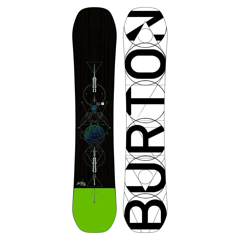 Planche De Snowboard Custom Homme Homme Noir Burton