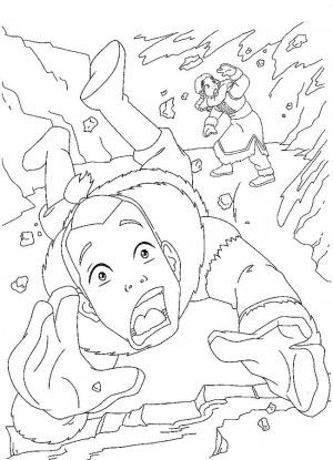 Avatar coloring page 14 | Avatar coloring book | Pinterest