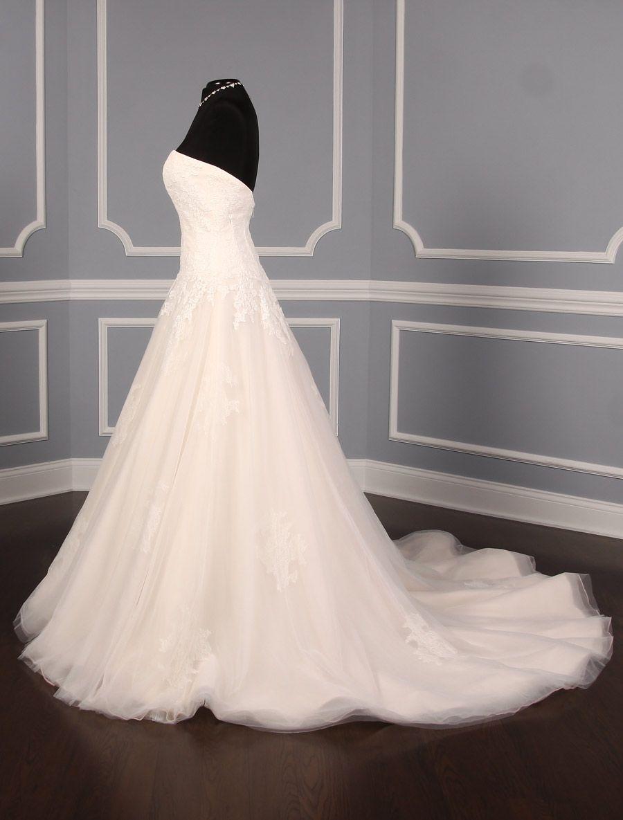 Anne barge violet wedding dress blue willow bride dream dress
