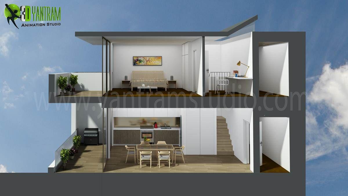 Great 3D Floor Plan Design, Interactive 3D Floor Plan