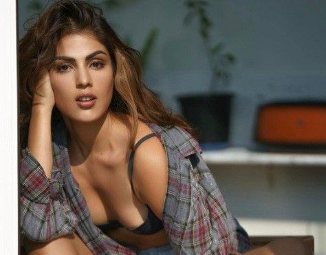 Rhea Chakraborty's sexiest photoshoot pictures