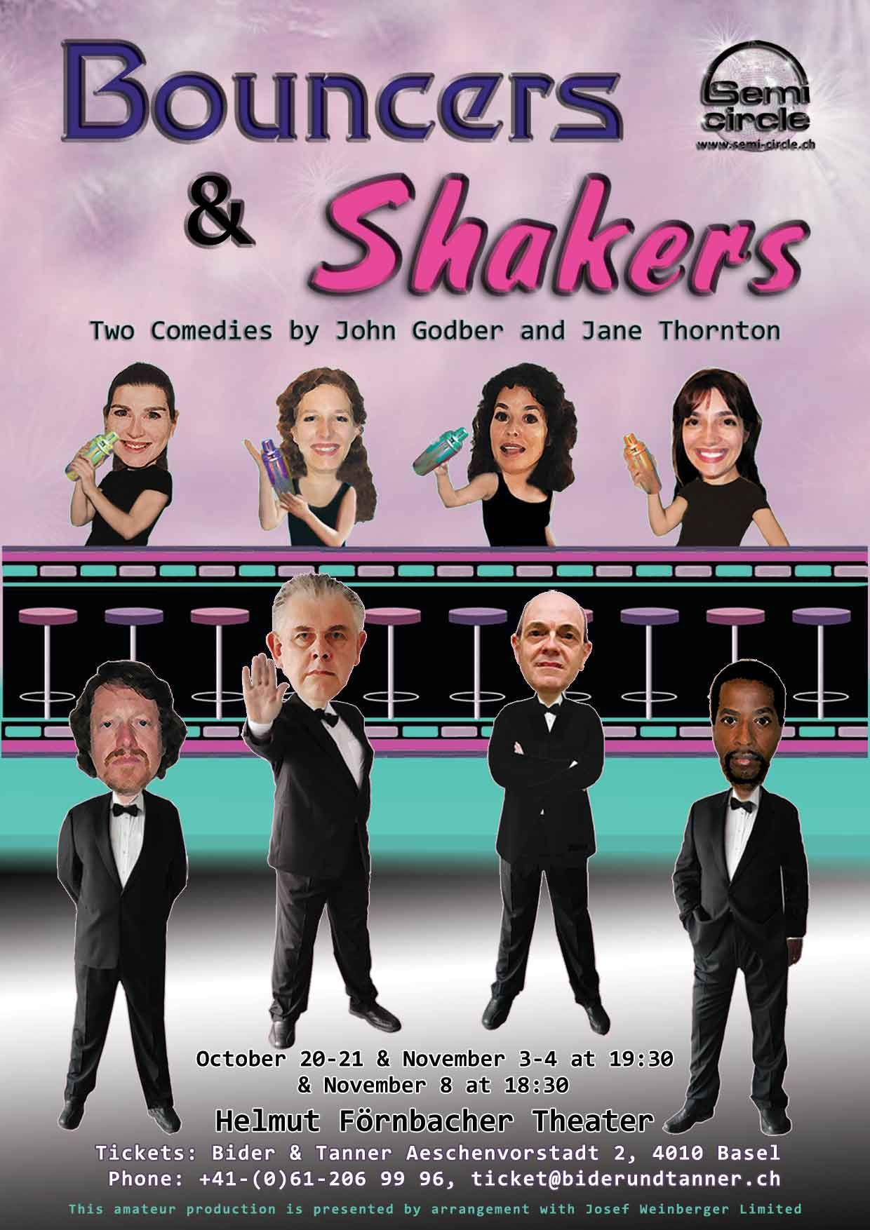 shakers play