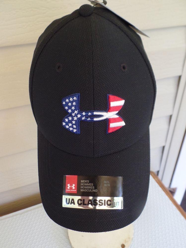 1f2c7640f9c Under Armour Men s Freedom BFL Blitzing Hat Sz. M L NWT s.. Stretch Fit.   Underarmour  BaseballCap