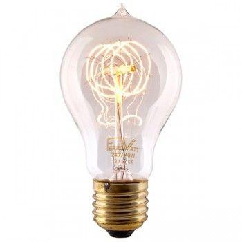 Light Bulbs Globe Mirror Filament Edison Cfl Energy Saving Cablelovers Filament Bulb Bulb Edison Light Bulbs
